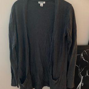Old navy grey cardigan